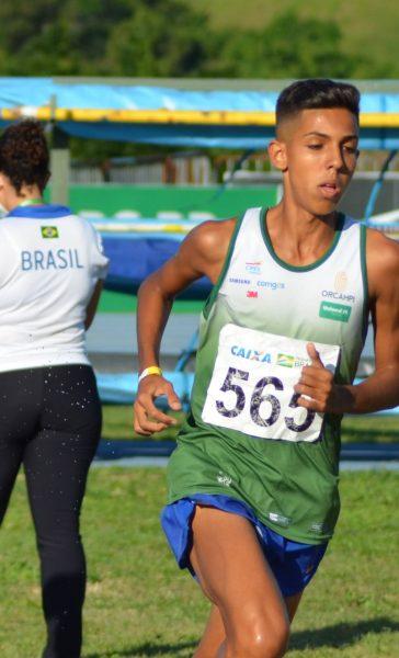 Promessa da nova geração: Vini Carvalho é top 4 no ranking Sub-18 da World Athletics